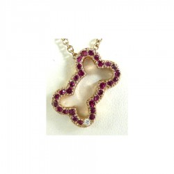 14K Gold Open Bone Pavé in Sapphires, Rubies, or Diamonds