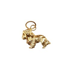 14K Gold or Sterling Silver Standing Cavalier King Charles Spaniel Charm