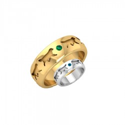 Golden Retriever Jewelry in 14K Gold and Sterling Silver