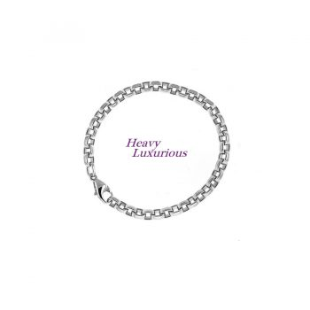 Fabulous Heavy Sterling Chain with Wide Oval Links